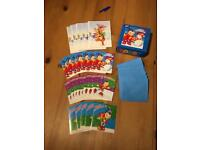 Children's Noddy + Disney Christmas Cards x 25