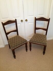 Pair of Antique Ocassional Chairs