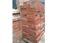 Red rustic bricks