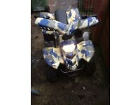 110 cc quad 4 stroke
