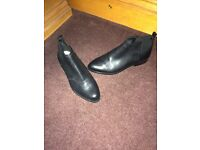 Ladies black Clarks ankle boots size 4 1/2 £20