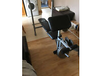 Weight Bench With NSC Standard Barbell Weight Set 100kg Plus Dumbbells