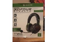 Xbox one earforce xo four stealth headset