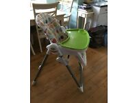 Mamas and papas high chair FREE