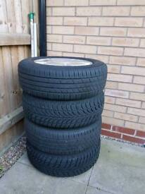 2008 Honda civic rims and tyres