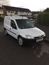 Vauxhall combo,Direct from BT 27,000 miles ,FSH x9 services
