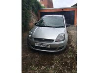 Ford Fiesta ZTEC 1.25LTR **spares or repairs**