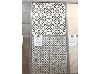 Victorian style floor tile