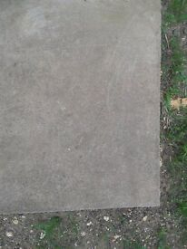 COUNCIL CONCRETE PAVING SLABS FLAGS 600mm by 600mm by 50mm HEAVY DUTY , PARKING, SHED BASE, DRIVEWAY