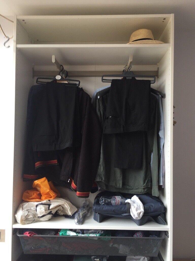 Ikea Komplement Clothes Rail For Pax Wardrobe 35cm Deep