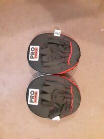 Target pads boxing kicking