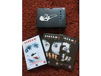 Scream 1,2 & 3 DVD box set