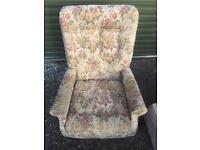 Vintage armchair. Can deliver.