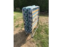 Single fold away storage bed - immaculate condition.