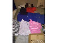 Small men's Ralph polo shirts & shirts & lots more designer clothes
