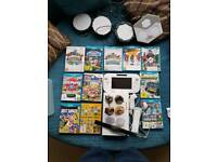Wii U 8gb white plus lots of games