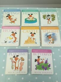 Kipper Storyboard books (Mick Inkpen) Collection of 8