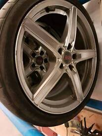 """18"""" alloys good condition ford etc 5x108"""