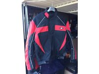 Akito Motorcycle Jacket. Size XXL