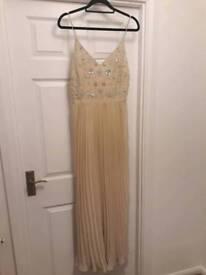 Ladies long dress, size 12, worn once. Miss Selfridge
