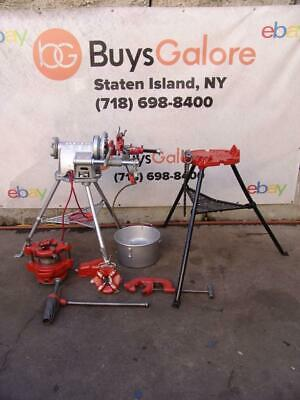 Ridgid 300 T-2 Pipe Threader Threading Machine 12 - 2 Inch 2 Dies 141 Tripod