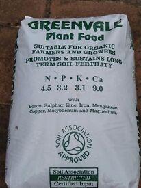 Organic fertiliser. Chicken Pellets. 25kg bags.