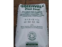Organic fertiliser. Chicken Pellets. 25kg bags.