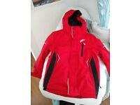 Boys Red No Fear Winter/ Ski Jacket Unused