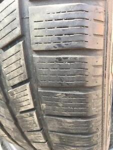 2 x 255/45/20 Pirelli scorpion hiver 6-7/32