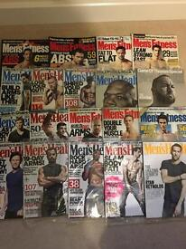 FITNESS AND MUSCLE MAGAZINES