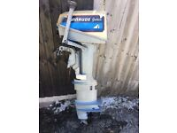 Evinrude 8hp Long Shaft Outboard