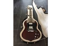 Gibson sg standard heritage cherry w. hard case