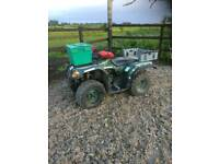 Yamaha big bear 250 farm quad 2wd