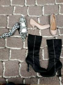 Womens Shoes & Boots Size 4