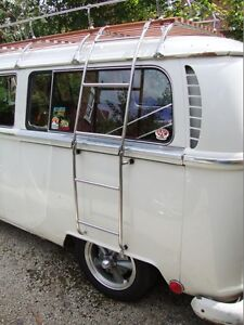 VW Ladder Bus Baywindow Splitscreen Splitty Camper Roofrack Ladder Stainless