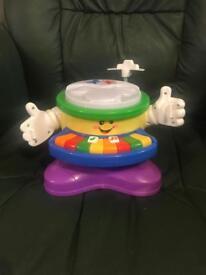 Children's drum and keyboard