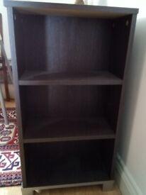 Dark Brown Veneer Cabinet