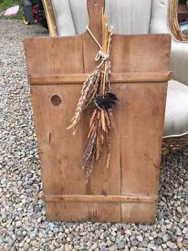 pine antique chopping board