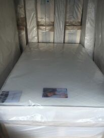 Lovely NEW good quality single beds ( includes good quality mattress and divan bed base )