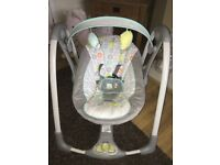 Ingenuity baby swing foldable