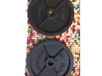20kg Weight plates x 2 or x 4