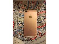 ROSE GOLD IPHONE 7 UNLOCKED GO ALL NETWORKS