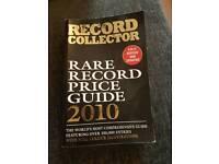Record collector book