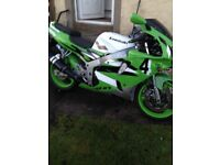 Zx600 for sale has no MOT expired in July 2016 declared sorn on bike so been sitting for a while