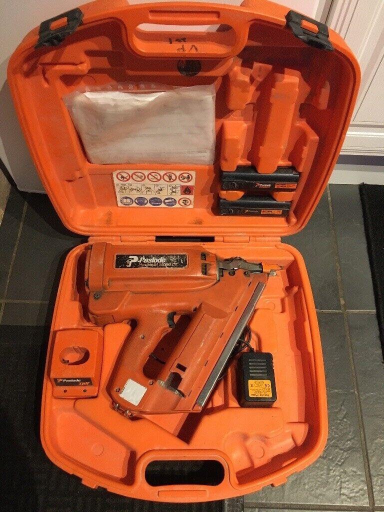 Paslode Im350 Nail Gun 1st Fix Nailer Gas Frame Dewalt