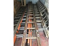 ROOF LADDERS SEVERAL SETS GOOD CONDITION