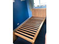 Oak-furniture Land Fresco single bed