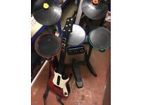 Guitar hero drums & guitar PS3 - SSTC