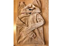 River Island bear onesie. Size XS