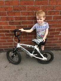 Kids BMX bike - would suit 4 or 5 year old